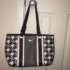 Houndstooth purse